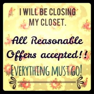 Closing Closet